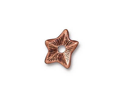 TierraCast Antique Copper (plated) Star Rivetable 14mm