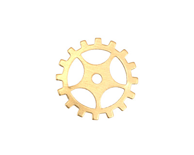Brass Sectioned Gear 19mm