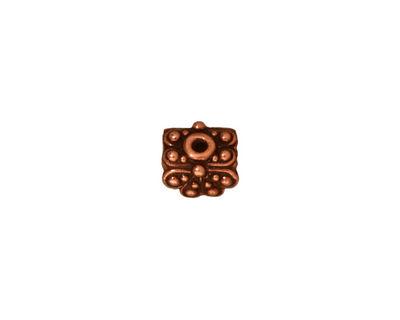 TierraCast Antique Copper (plated) Raja Pendant Cap 6x9mm