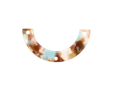 Zola Elements Mermaid Acetate U-Shape Y-Connector 30x15mm
