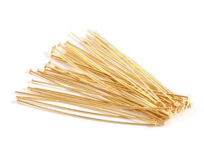 Gold (plated) Headpin 1.5