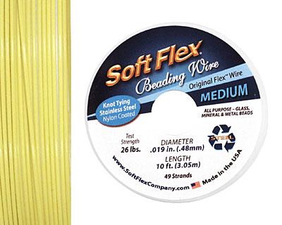 Soft Flex Yellow Lemon Quartz .019