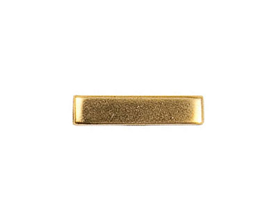 Nunn Design Antique Gold (plated) Simple Toggle Bar 22mm