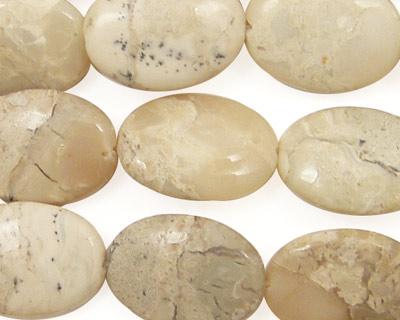 African Opal Flat Oval 18x13mm