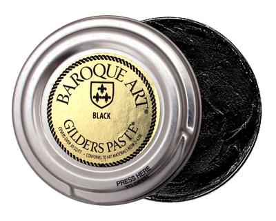 Black Baroque Art Gilders Paste 30ml