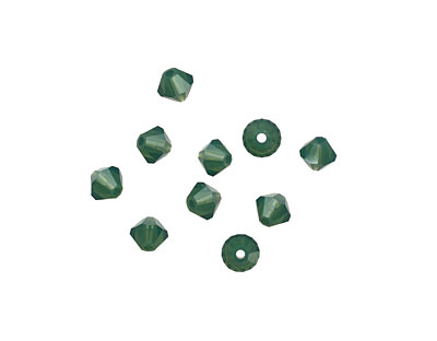 Swarovski Palace Green Opal Faceted Bicone 4mm (5301)