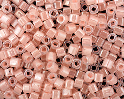TOHO Ceylon Innocent Pink Cube 3mm Seed Bead