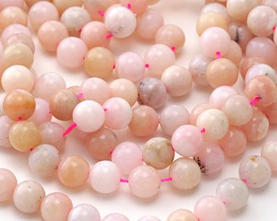 Pink Opal Round 8mm
