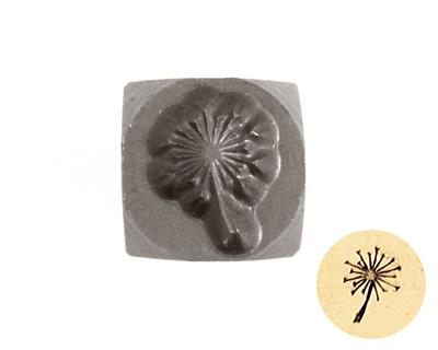 Dandelion Metal Stamp 5mm