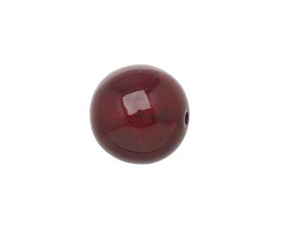 Tagua Nut Merlot Round 16mm