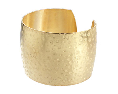 Brass Speckled Cuff 65x45mm