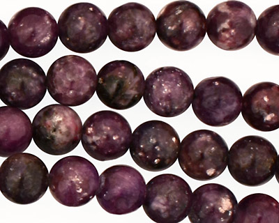 Lepidolite Tumbled Round 8mm