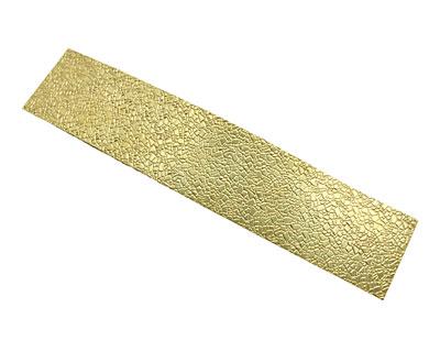 Mosaic Patterned Brass Strip 2.5