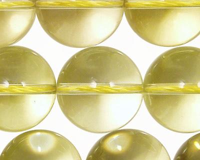 Lemon Quartz Round 18-20mm