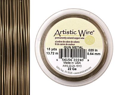 Artistic Wire Antique Brass 22 gauge, 15 yards