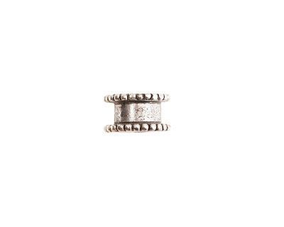 Nunn Design Antique Silver (plated) Small Channel 6x11mm