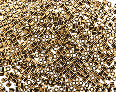 TOHO Bronze Cube 1.5mm Seed Bead