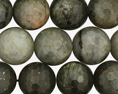 Labradorite Faceted Round 16mm