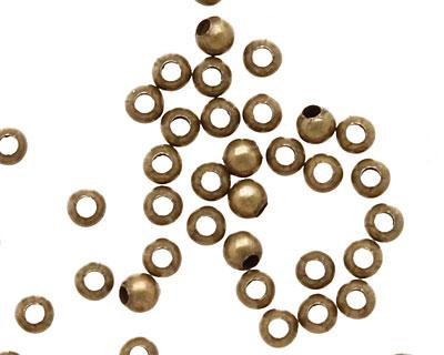 TierraCast Antique Brass (plated) Round 2mm