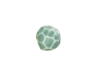 Gaea Ceramic Cerulean Geode Round 11-12x13-14mm