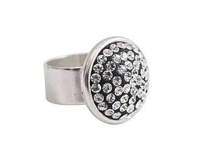 Nunn Design Antique Silver (plated) Traditional Ring Kit