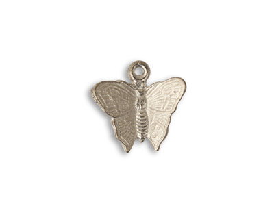 Vintaj Pewter Fluttering Butterfly 16mm