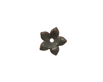 C-Koop Enameled Metal Steel Gray Small 5 Petal 12mm