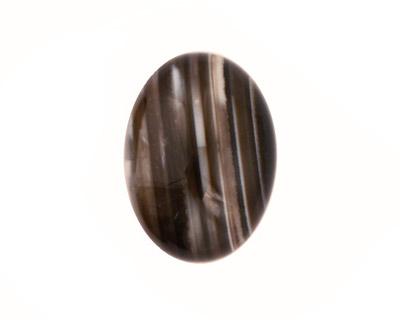 Black Sardonyx Oval Cabochon 18x25mm