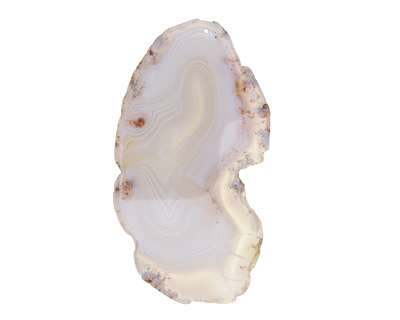 Agate Slice Large Freeform Pendant 35-66x101-165mm