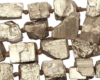 Chalcopyrite Rough Cube Nugget 9-13x9-10mm