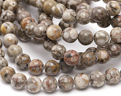 Orbicular Jasper Round 8mm