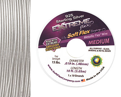 Soft Flex Extreme Sterling Silver .019