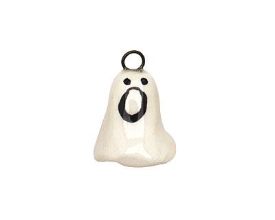 Jangles Ceramic Ghost Charm 12-15x17-18mm