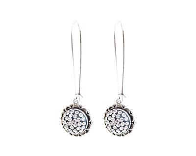 Nunn Design Antique Silver (plated) Ornate Earrings Kit
