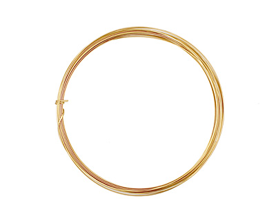 German Style Wire Non Tarnish Brass Half Round 20 gauge, 3 meters