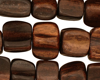 Ebony Wood Freeform Pillow 16-20x11-18mm