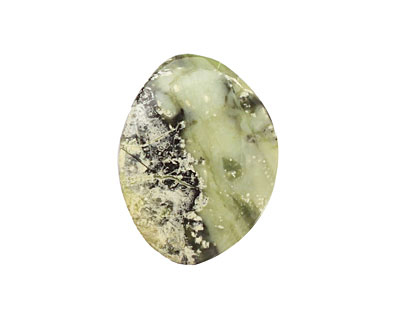 China Mountain Green Jade Freeform Small Cabochon 25-30x35-40mm