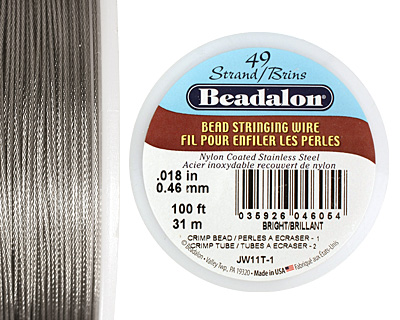 Beadalon Bright .018