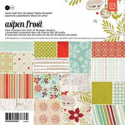 Aspen Frost Paper Pad 6