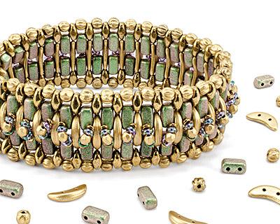 Step it Up Bracelet Pattern for CzechMates
