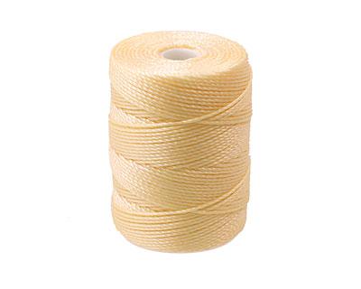 C-Lon Cream (.5mm) Bead Cord