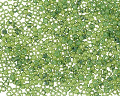 TOHO Milky Greenery Round 11/0 Seed Bead
