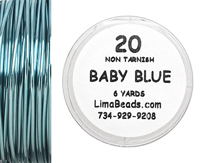 Parawire Baby Blue 20 Gauge, 6 Yards