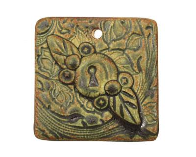 Earthenwood Studio Ceramic Desert Pine Garden Collage 39mm