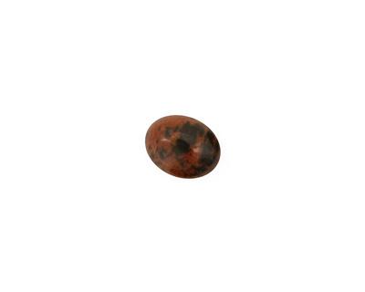 Mahogany Obsidian Oval Cabochon 8x10mm