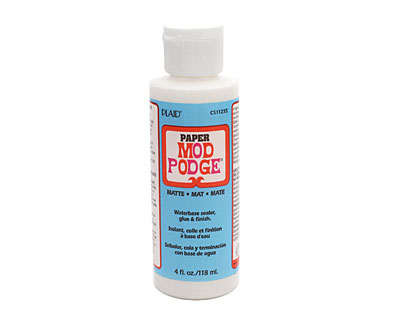 Mod Podge Paper (matte) Glue & Sealer 4 fl. oz.