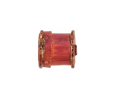 Patricia Healey Copper Large Barrel Bead Cap 16mm