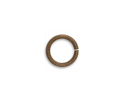 Vintaj Natural Brass Roped Jump Rings 11mm