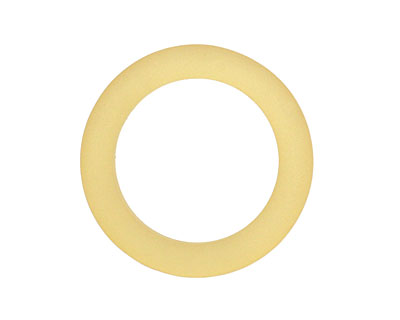 Desert Gold Recycled Glass Ring 27mm