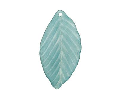 Lucite Marine Birch Leaf 18x35mm